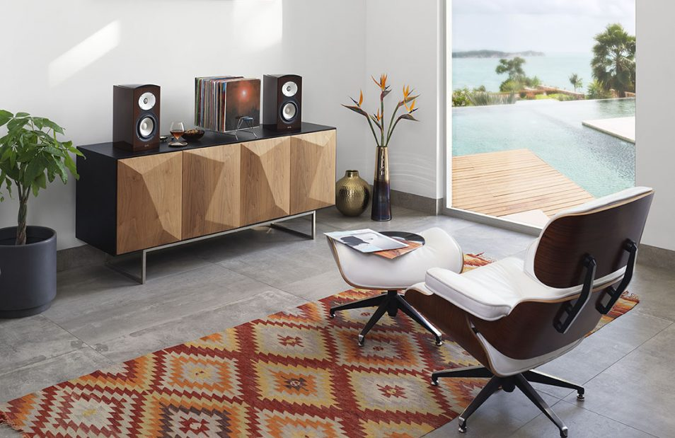 Revel M126Be speakers lifestyle