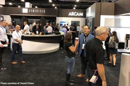 Harman Luxury Booth CEDIA 2019