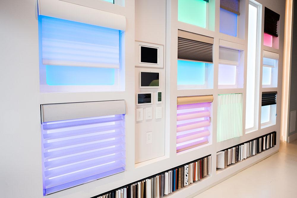 Maxicon showroom shades