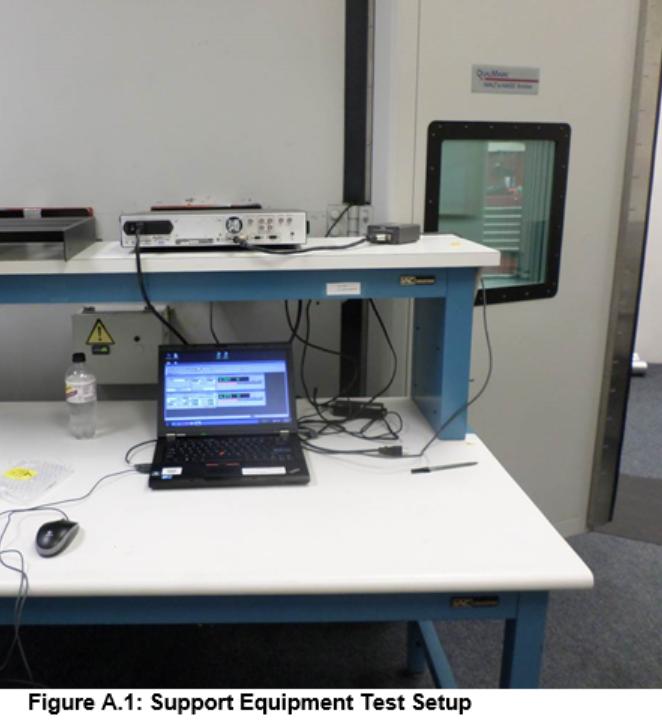 Mark Levinson Quality Assurance - Support Equipment Test Setup