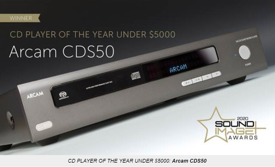 Arcam CDS50 Sound + Image Award