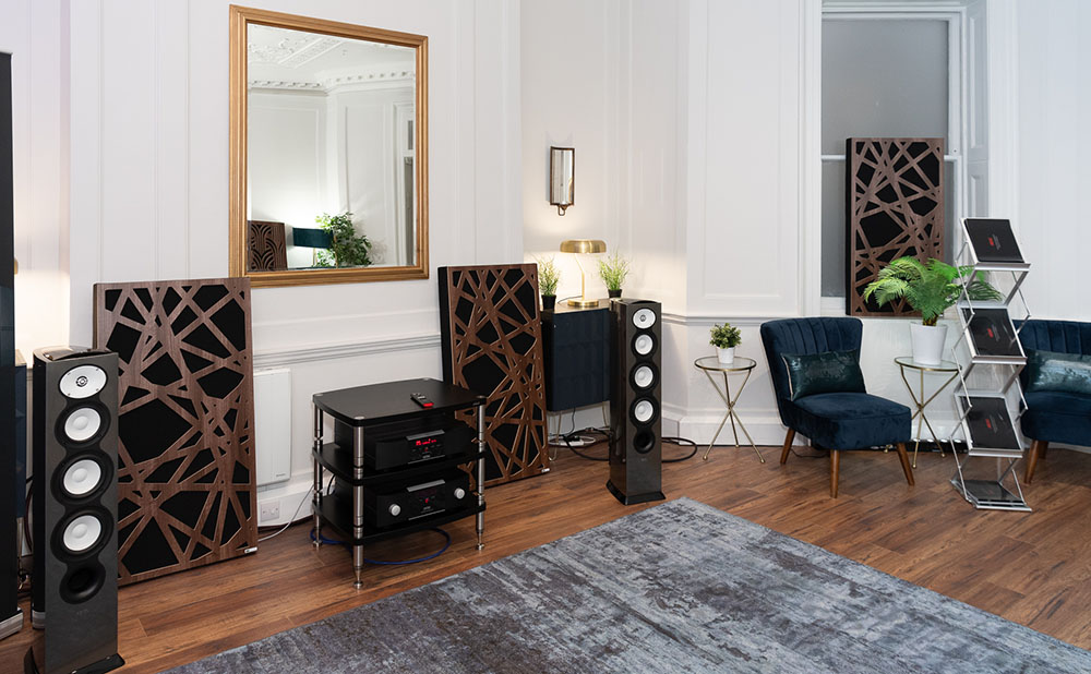Mark Levinson and Revel room