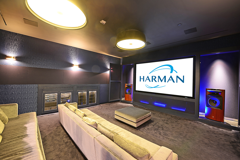 Harman Store JBL Synthesis Theater