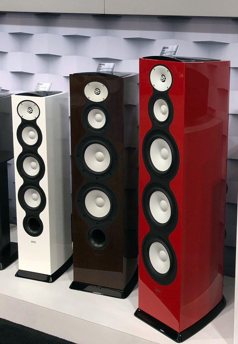 Revel Be speakers