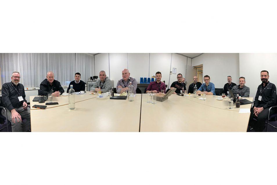JBL Synthesis Product Advisory Council attendees