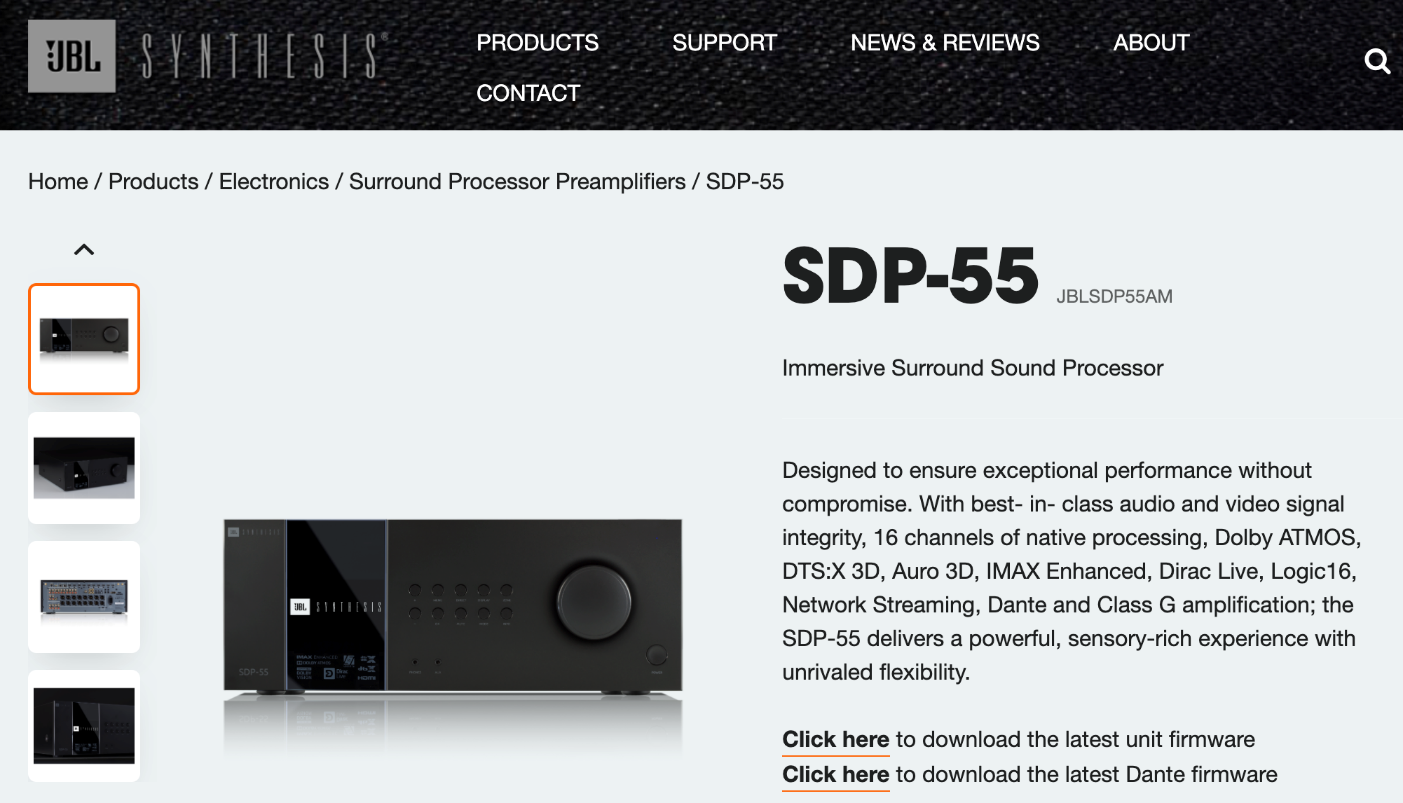 SDP-55 product page