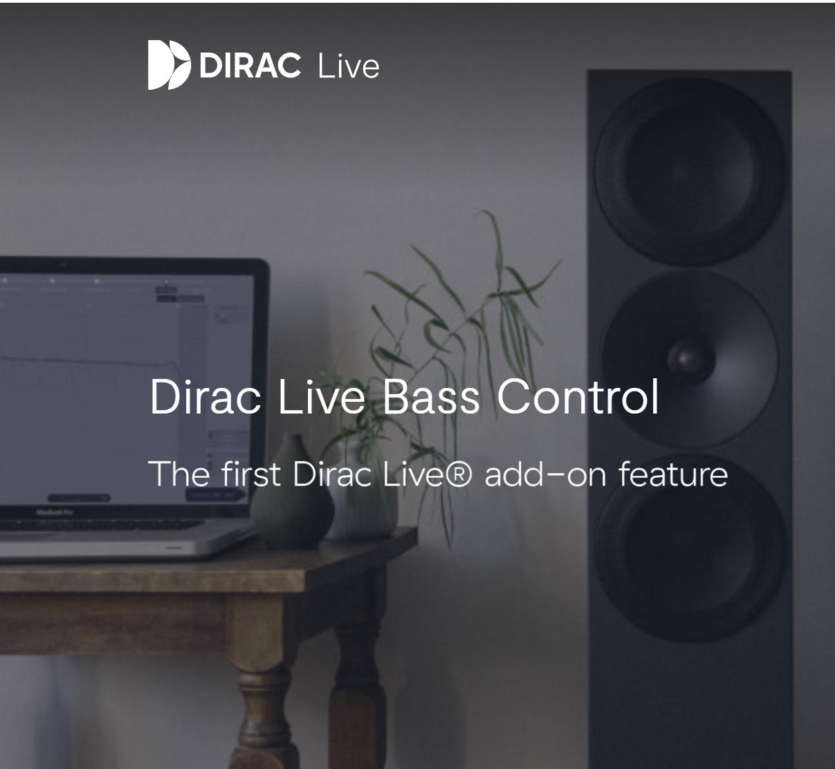 Dirac Live Bass Control