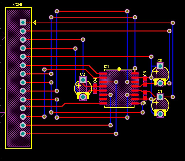 Power and ground Routing graphic 4