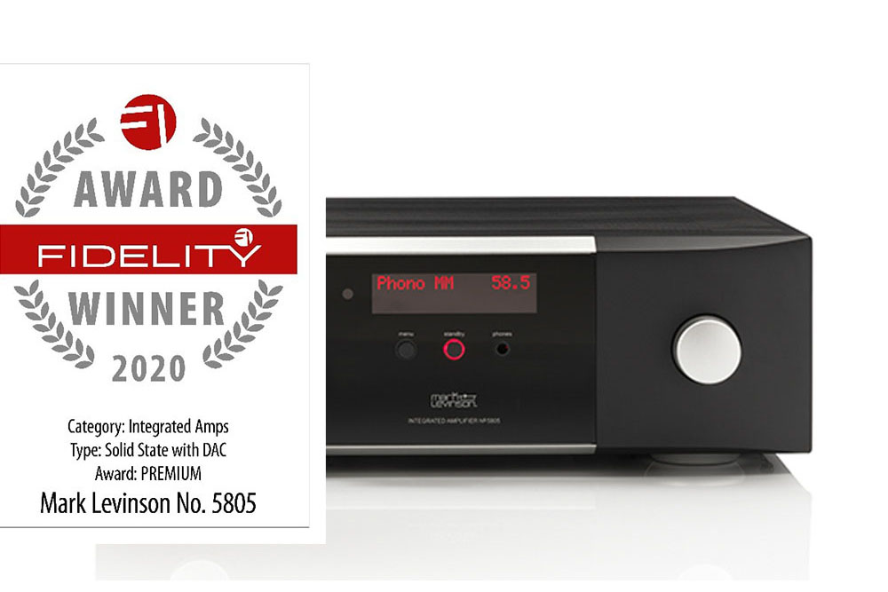 Fidelity Award for Mark Levinson No 5805