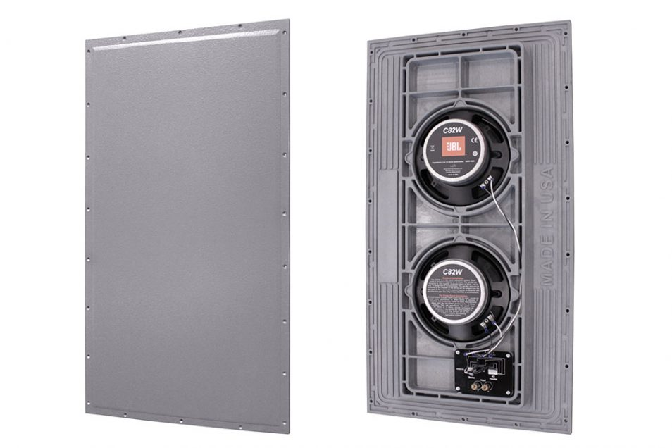 JBL Conceal Series C83 front and back