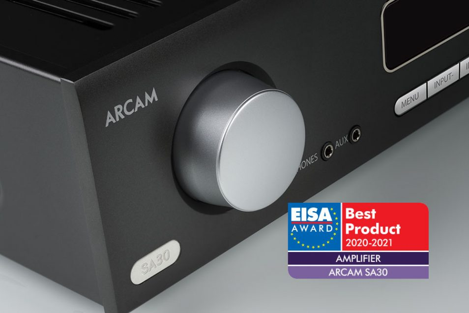 Arcam SA30 wins EISA Best Product Award