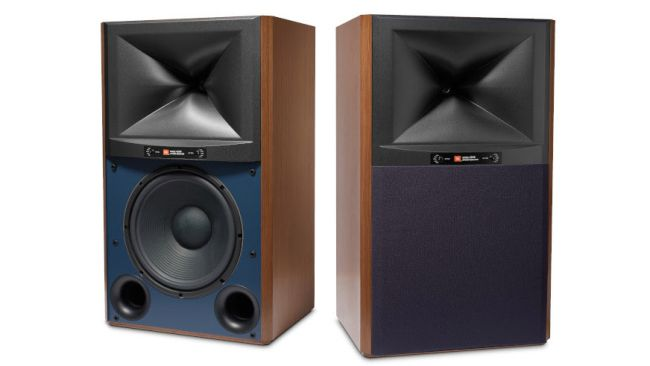 JBL 4349 Studio Monitor Black Rear