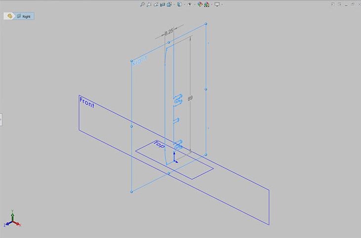 SolidWorks Figure 1