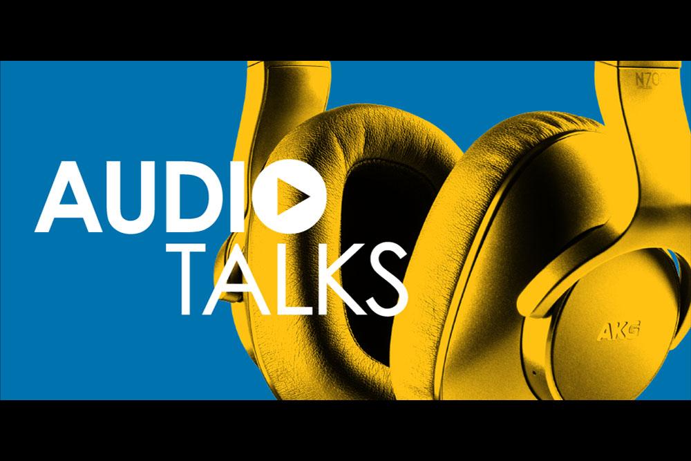 Audio Talks graphic