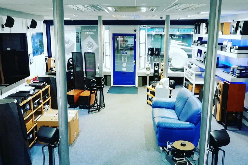 Martins listening room