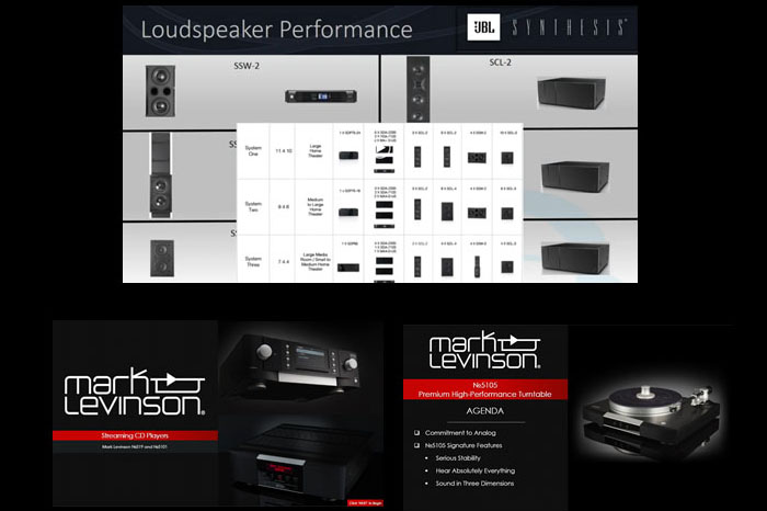 JBL Synthesis-Mark Levinson training