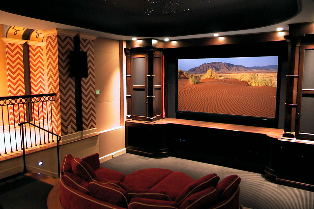 Genesis Audio dedicated theater