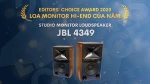 JBL 4349 Award