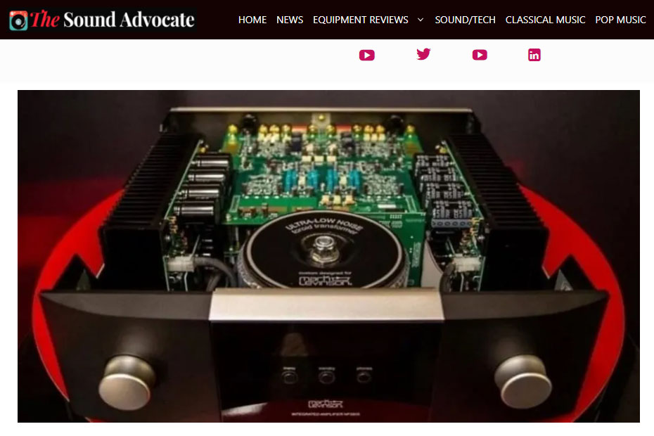 The Sound Advocate Review of the No5805