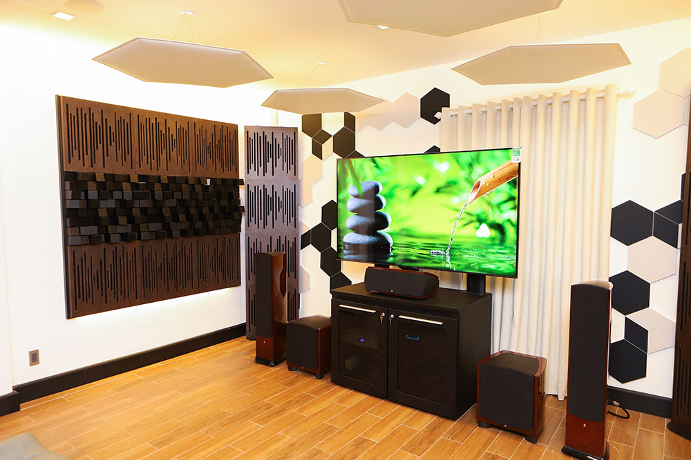 Thanh Tung Audio - Revel speakers and a TV