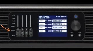 Dsi 2.0 Amp front Panel Configuration