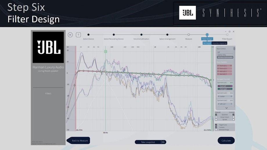 JBL Synthesis - Dirac Live Bass Control
