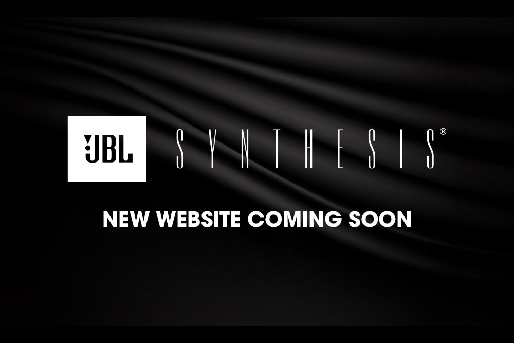 JBL Synthesis: New Website Coming Soon