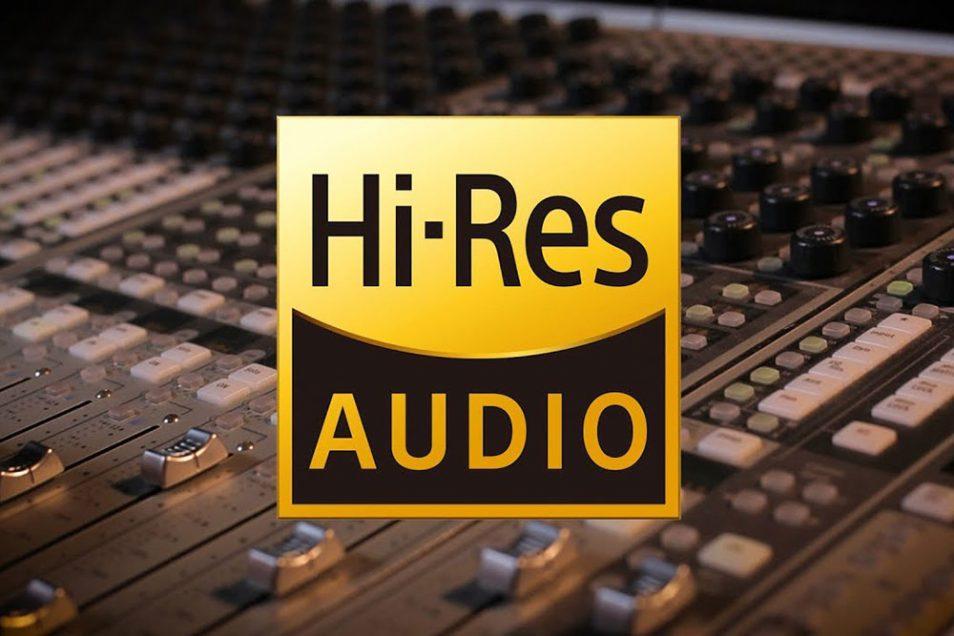 Hi-Res Audio logo