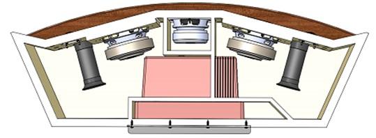 JBL L75ms graphic 1